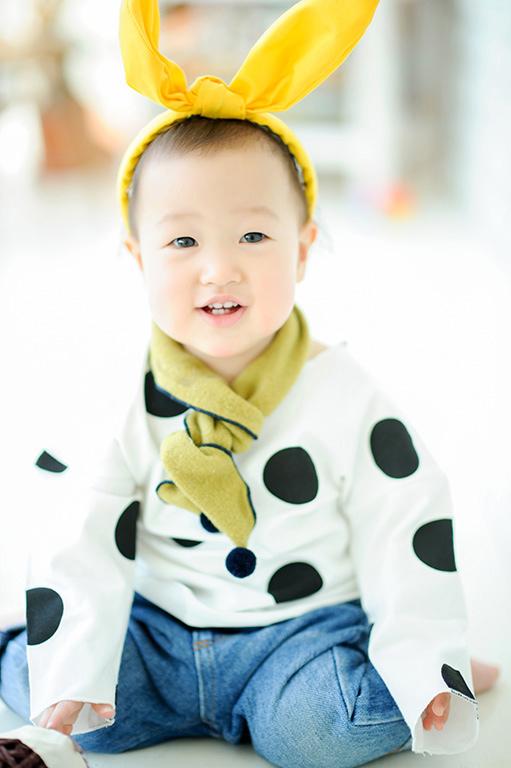 1歳バースデー(誕生日記念):カジュアル衣裳
