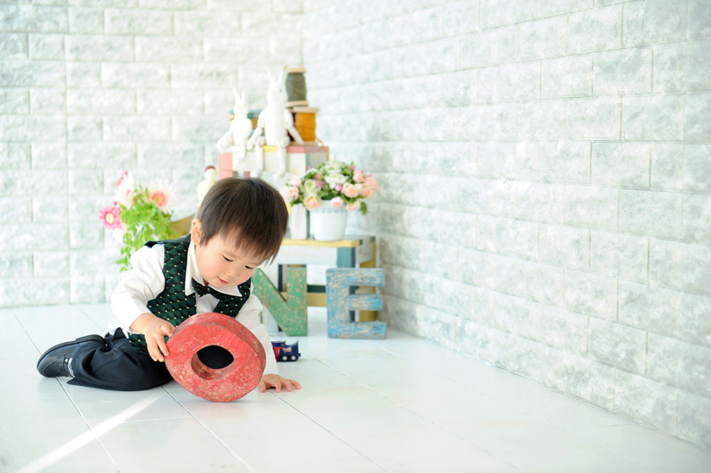 1歳バースデー(誕生日記念):タキシード