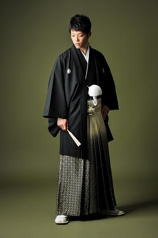 ウエディングフォト:紋服/黒