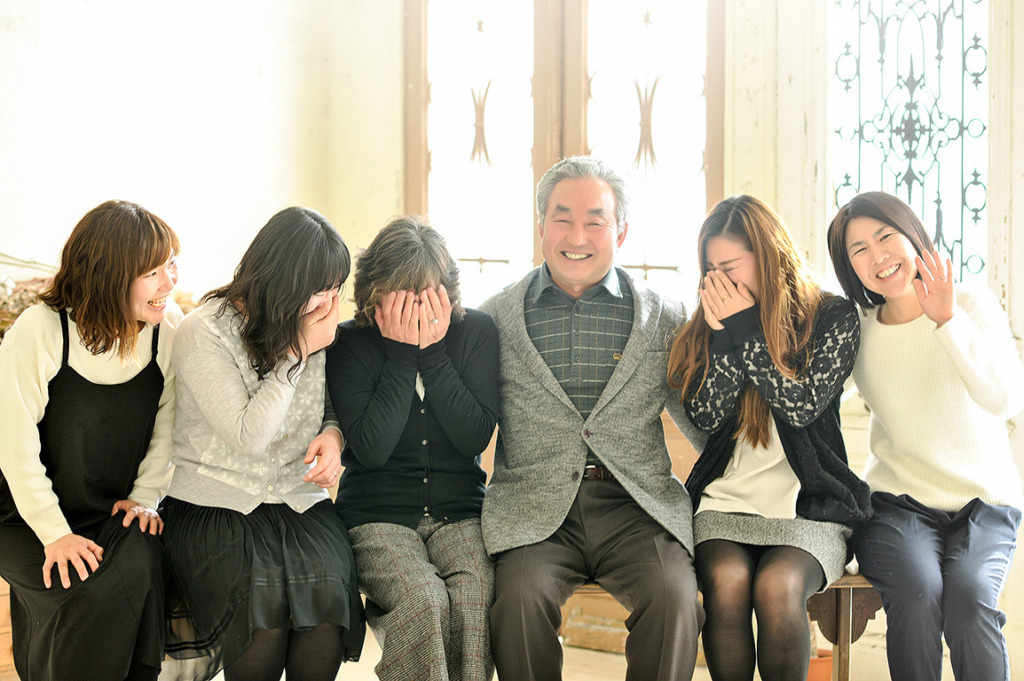 記念写真:家族写真