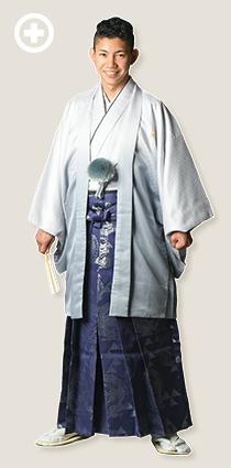 紋服:白×グレー イ-紋-11