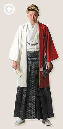 紋服:赤×白 イ-紋-29