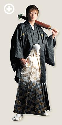 紋服:黒 イ-紋-17