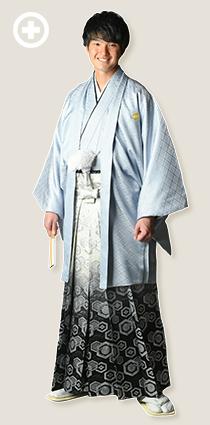 紋服:グレー イ-紋-7