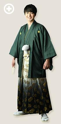 紋服:緑 イ-紋-6