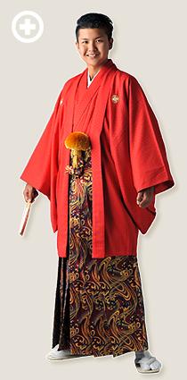 紋服:赤 イ-紋-25