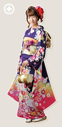 振袖:紫 イ-フ-36