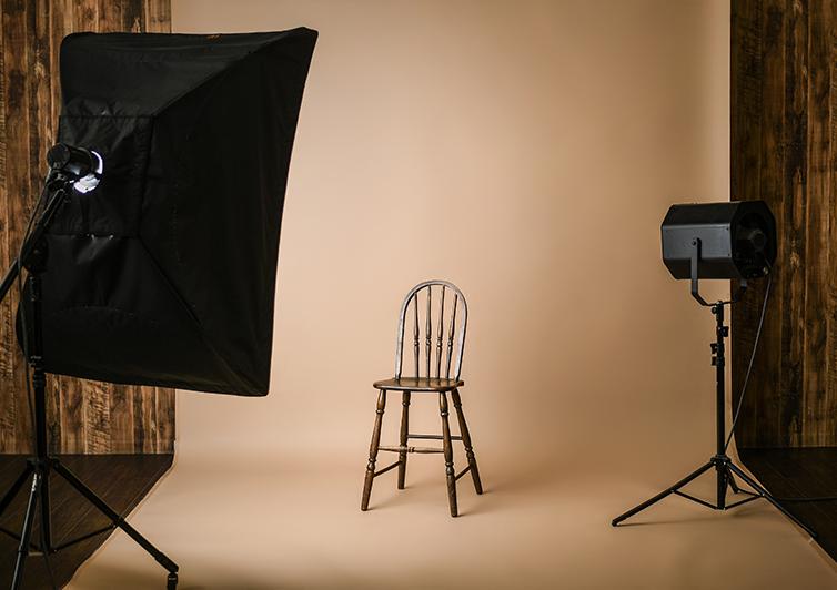 Aスタジオの全体写真