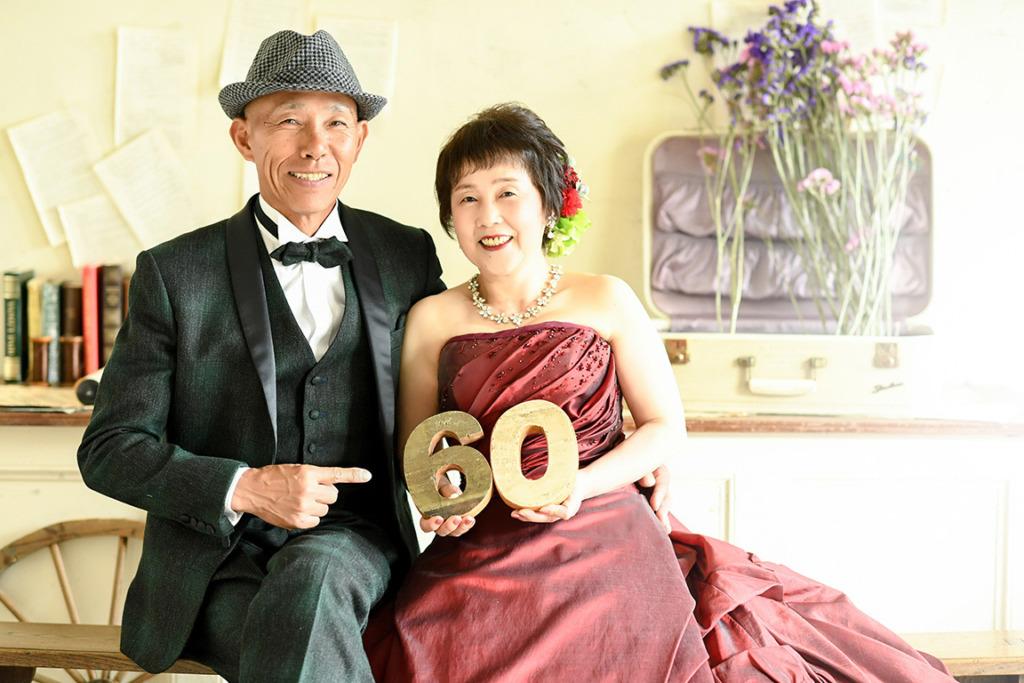 記念写真:ご長寿/ドレス支度