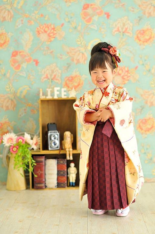 七五三3歳:袴