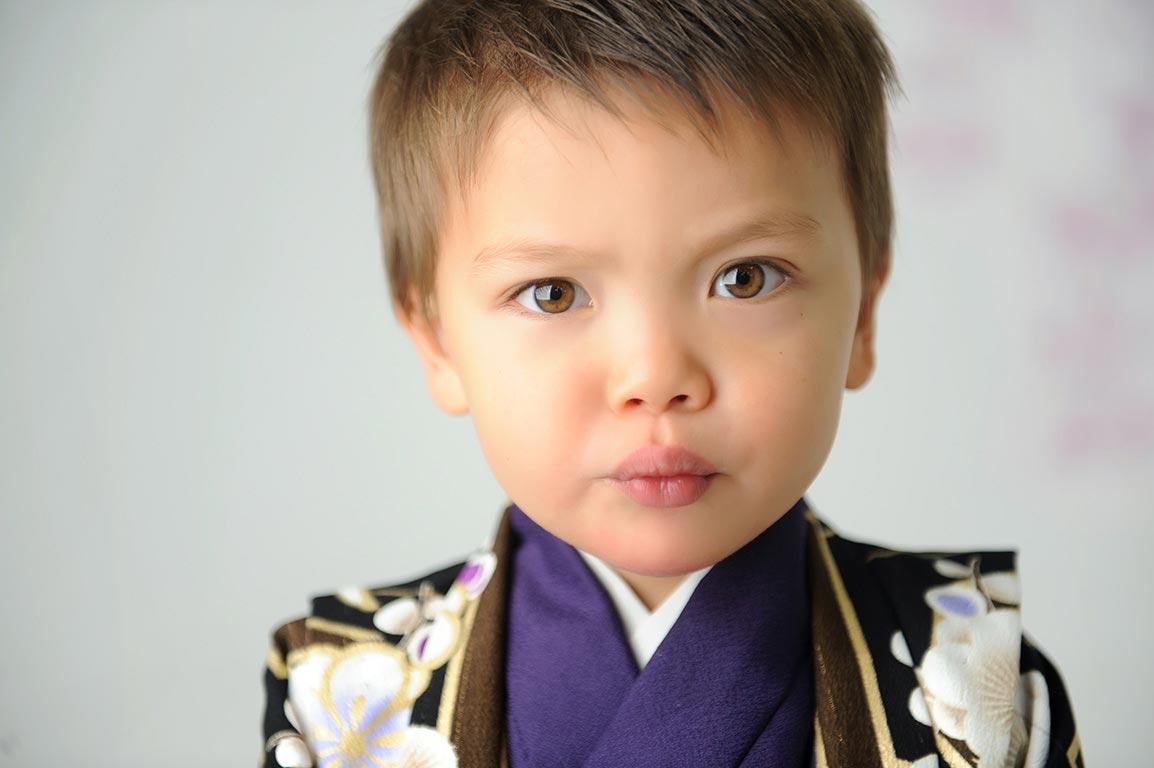 七五三3歳男の子:着物