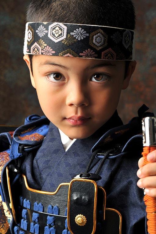 七五三5歳:鎧兜(甲冑)/伊達政宗カブト