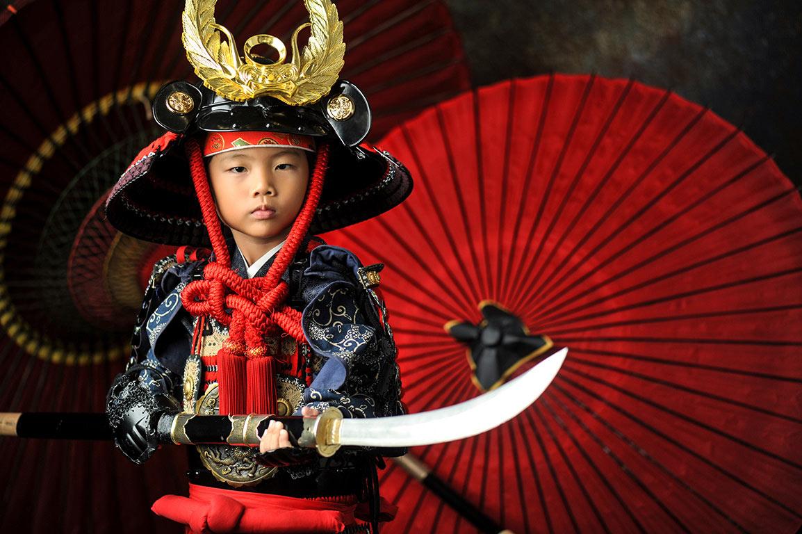 七五三5歳:鎧兜(甲冑)/家康カブト