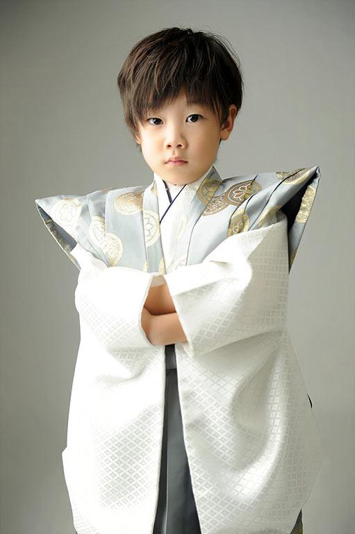七五三5歳:時代衣装/裃