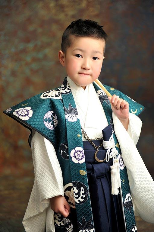 七五三5歳:時代衣装/陣羽織