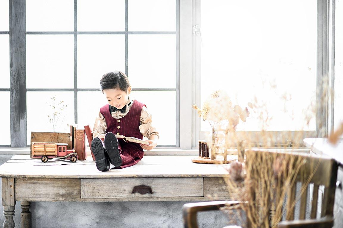 七五三5歳:タキシード(洋装)