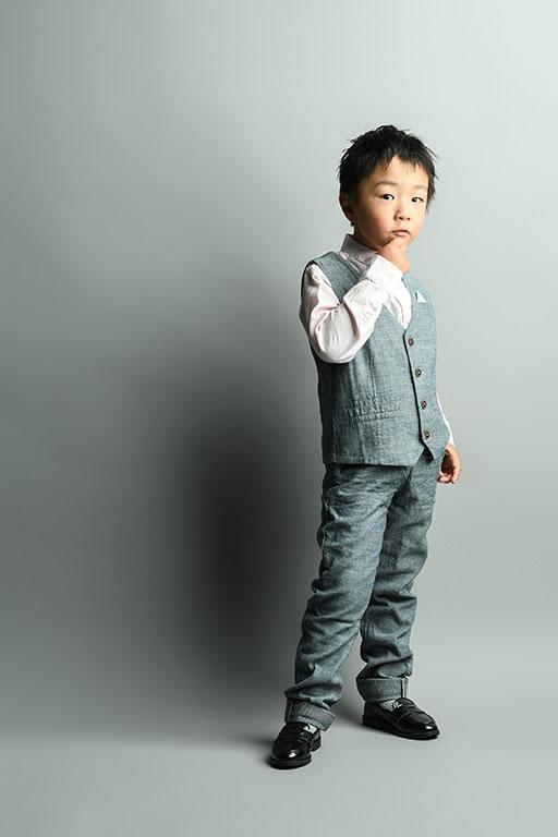 七五三5歳:私服