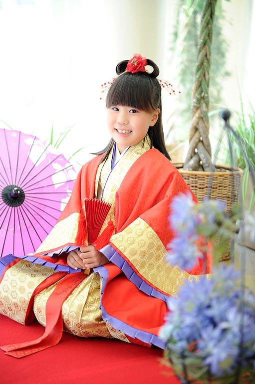 七五三7歳:時代衣裳/乙姫