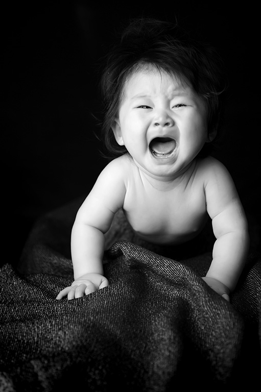 赤ちゃん(ニューボーン):はだかんぼ(ベビーヌード)/モノクロ(白黒)