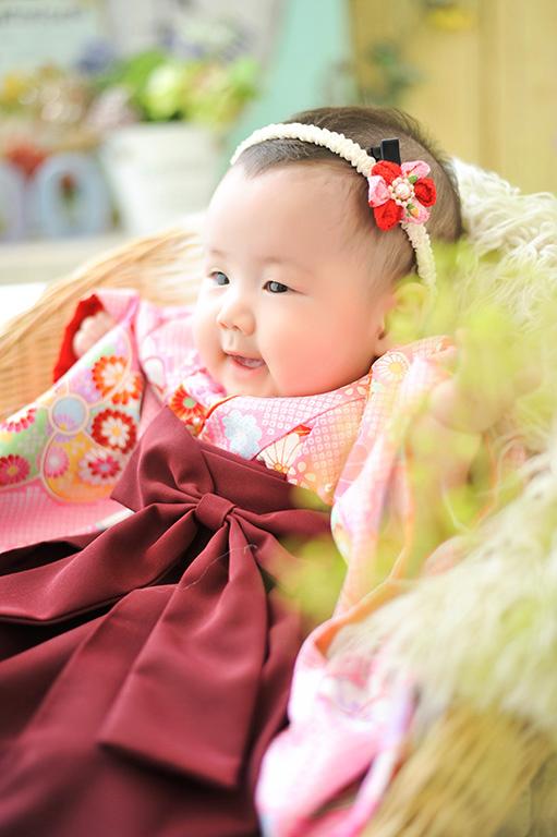 赤ちゃん:節句/女の子着物(袴)