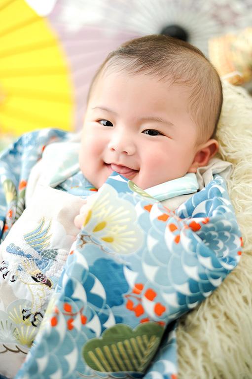 赤ちゃん:節句/男の子着物