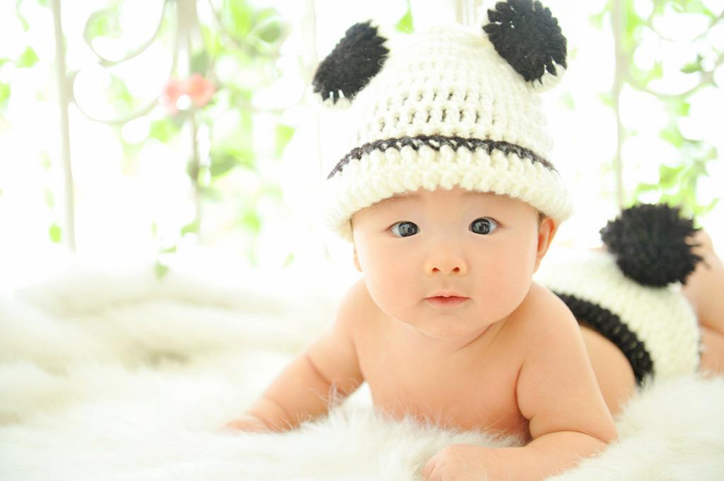赤ちゃんカジュアル衣裳:着ぐるみ(パンダ)