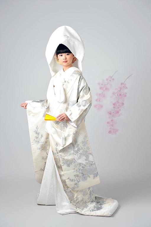 ウエディングフォト:白無垢/綿帽子