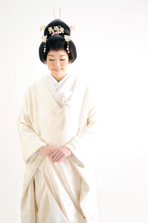 ウエディングフォト:白無垢/おカツラ