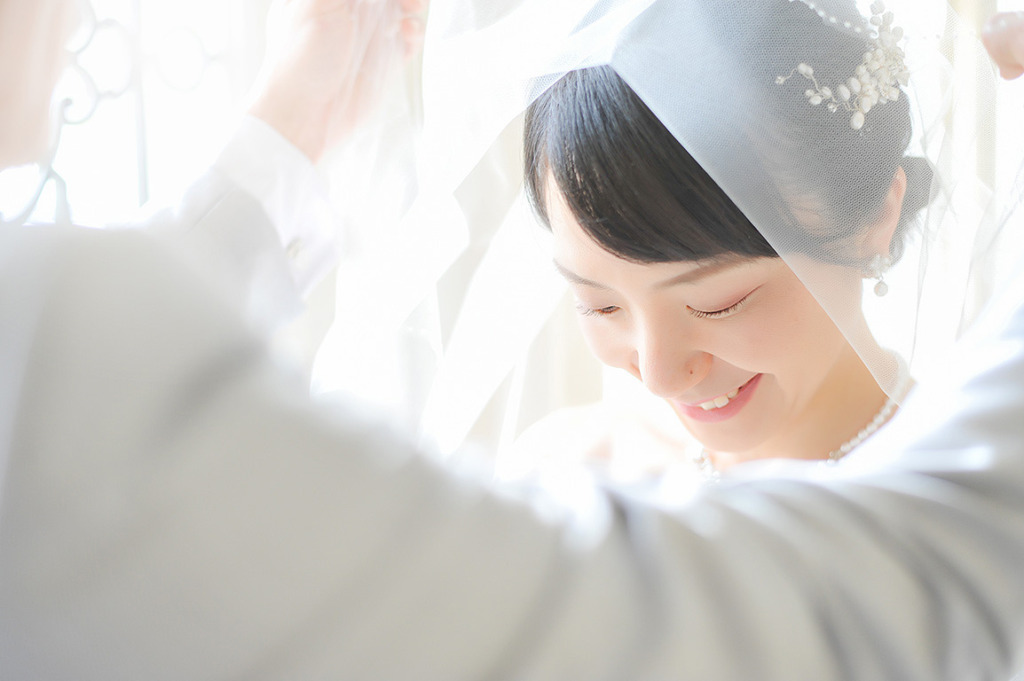 ウディングフォト:白ドレス