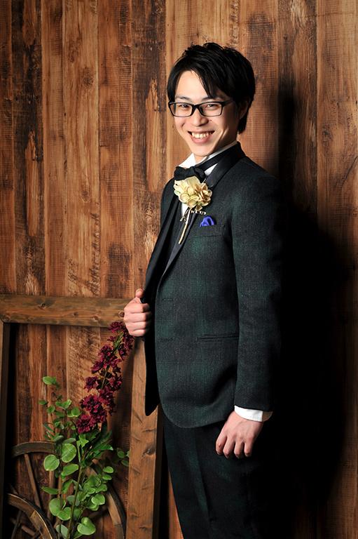 ウエディングフォト:カラードレス/タキシード