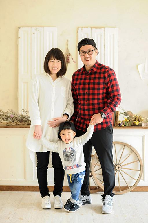 バースデー(誕生日):家族写真