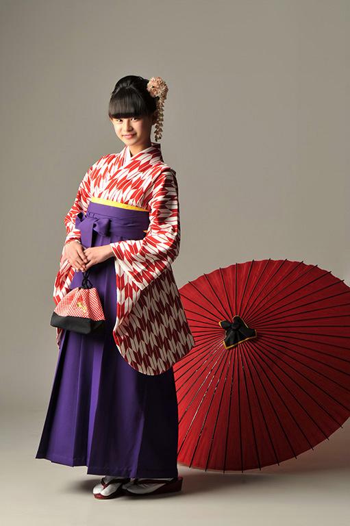 入園/入学/卒業:袴支度撮影