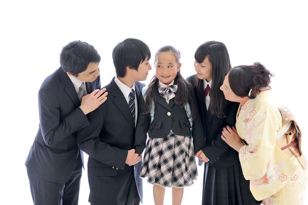 入園/入学/卒業:家族写真