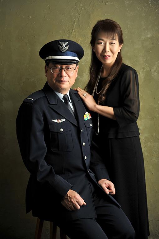 記念写真:退官記念 ご夫婦で