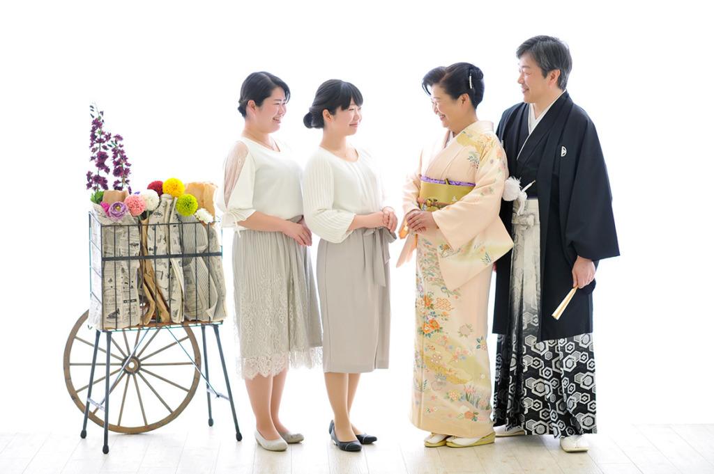 アニバーサリーウエディング(結婚記念):和装/着物